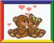 Riolis Art 053 Teddies in Love
