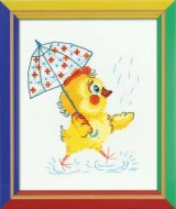 Riolis Art HB130 Chick with Umbrella
